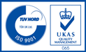 ISO 9001 Ukas Quality Management 065 logos